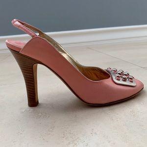 Cole Haan slingback heels!